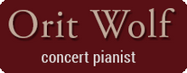 Orit Wolf Concert Pianist website